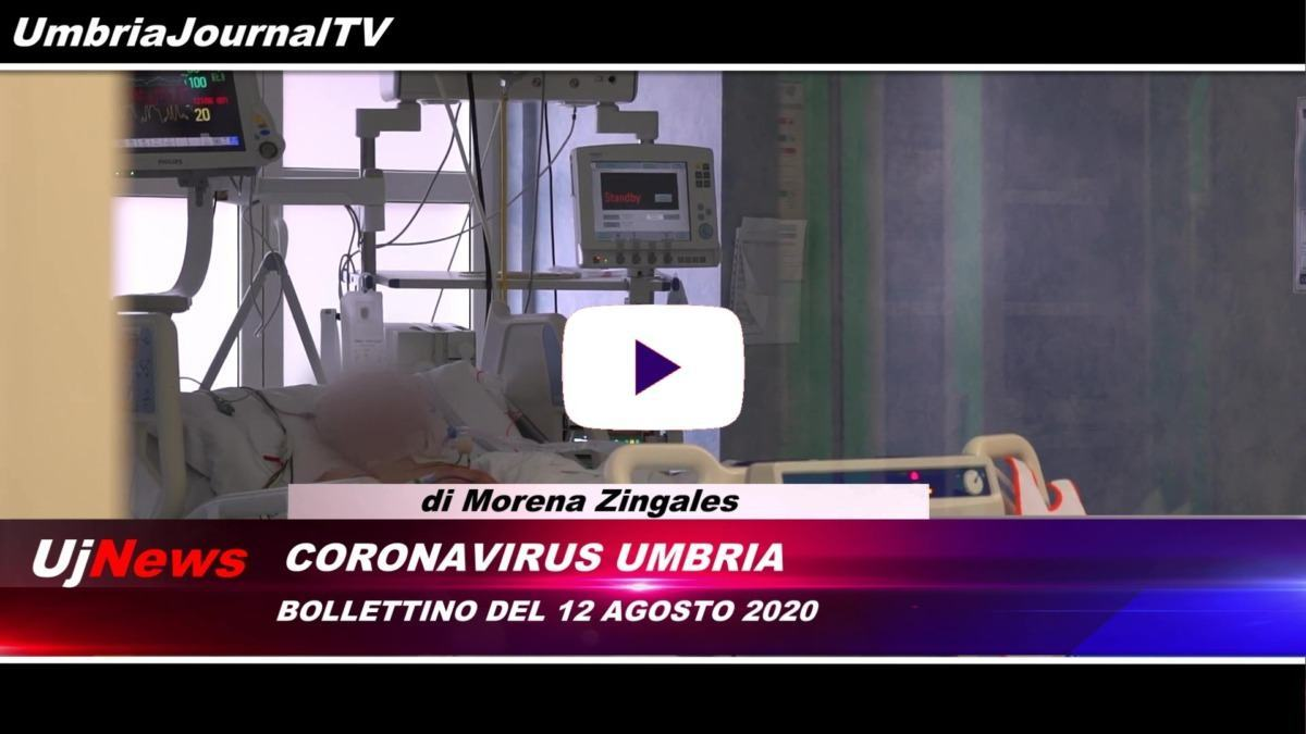 Telegiornale dell'Umbria edizione della sera Tg Umbria 12 agosto 2020 mercoledì