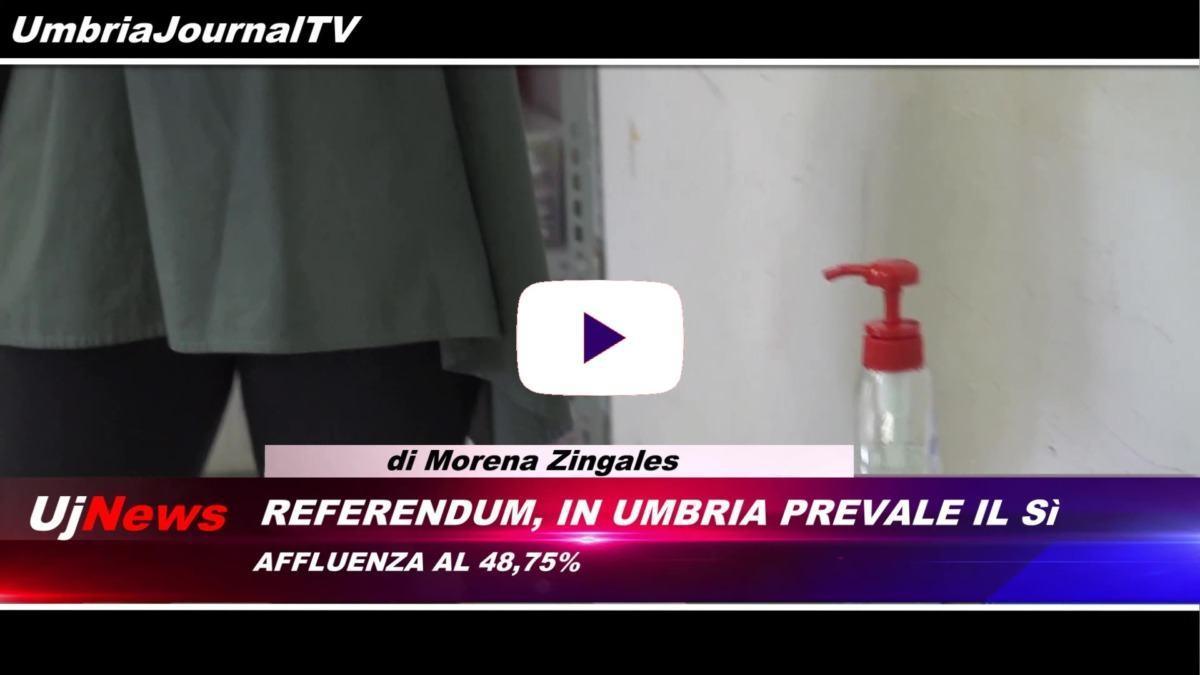 Telegiornale dell'Umbria edizione della sera Tg, 21 settembre 2020 lunedì