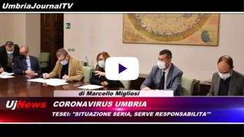 Telegiornale dell'Umbria edizione della sera Tg, 21 ottobre 2020 mercoledì