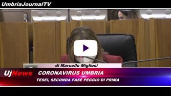 Telegiornale dell'Umbria edizione della sera Tg, 27 ottobre 2020 martedì