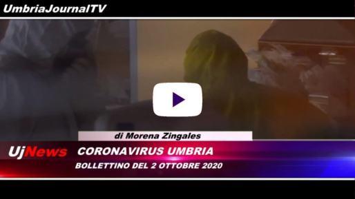 Telegiornale dell'Umbria edizione della sera Tg, 2 ottobre 2020 venerdì