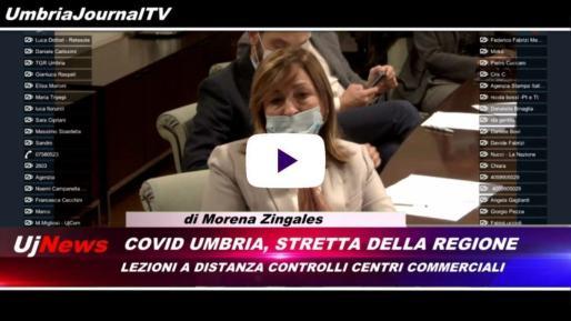 Telegiornale dell'Umbria edizione della sera Tg, 19 ottobre 2020 lunedì