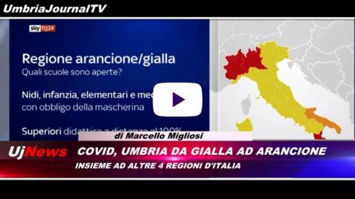 Telegiornale dell'Umbria edizione della sera Tg, 9 novembre 2020 lunedì