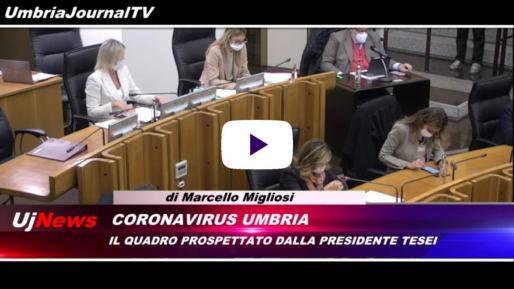 Telegiornale dell'Umbria edizione della sera Tg, 10 novembre 2020 martedì