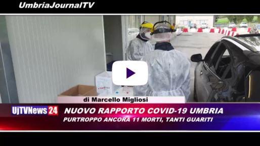 Telegiornale dell'Umbria edizione della sera Tg, 18 novembre 2020 mercoledì