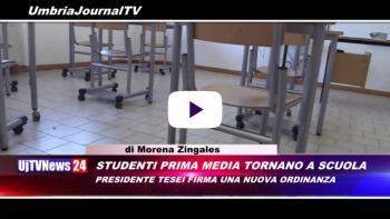 Telegiornale dell'Umbria edizione della sera Tg, 27 novembre 2020 venerdì