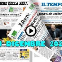 La video rassegna stampa del 1 dicembre 2020, prime pagine pdf