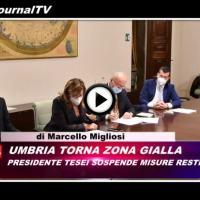 Telegiornale dell'Umbria edizione della sera Tg, 4 dicembre 2020, venerdì