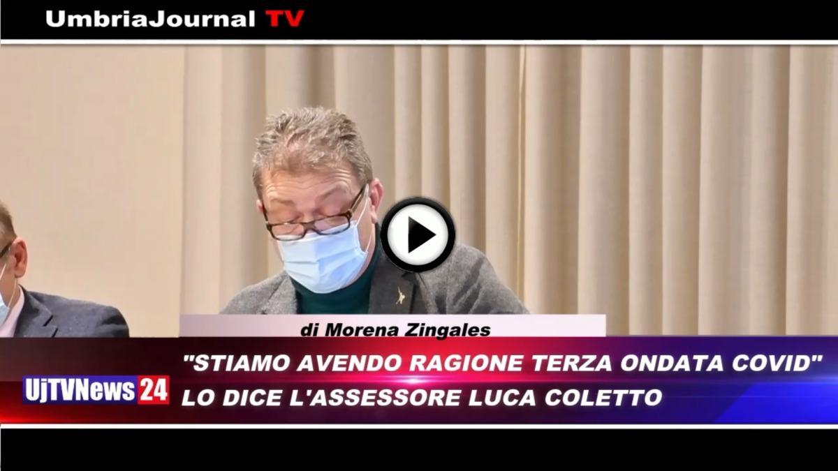Telegiornale dell'Umbria edizione della sera Tg, 25 febbraio 2021 giovedì