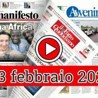 Rassegna stampa 23 febbraio 2021, prime dei giornali in pdf