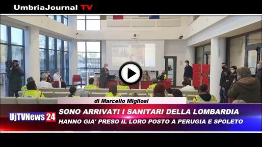Telegiornale dell'Umbria edizione della sera Tg, 22 febbraio 2021 lunedì