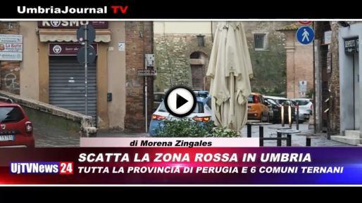 Telegiornale dell'Umbria edizione della sera Tg, 8 febbraio 2021 lunedì