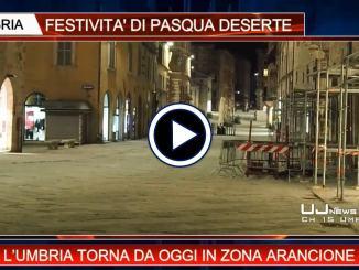 Telegiornale dell'Umbria edizione della sera Tg, 6 aprile 2021 martedì