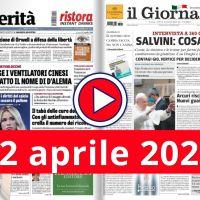 La video rassegna stampa del 12 aprile 2021, prime in pdf