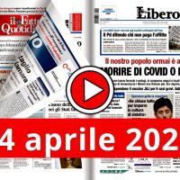 La video rassegna stampa del 14 aprile 2021, prime in pdf