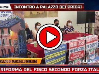 Forza Italia, presenta la riforma del fisco intervista a Fiammetta Modena