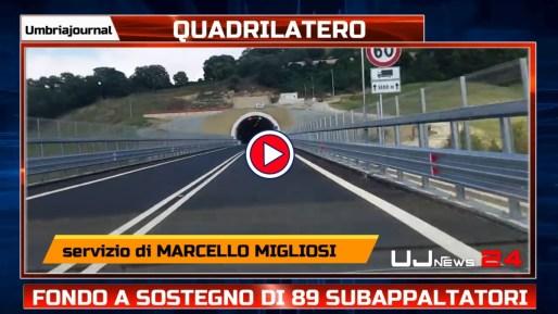 Salva Opere, assegnati 89 milioni ad aziende in Italia, anche a subappaltatrici Quadrilatero