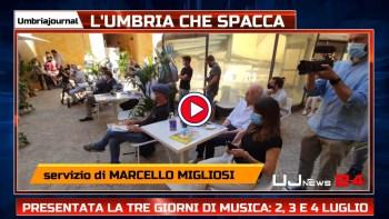 Il 2, 3 e 4 luglio 2021 c'è l'Umbria che spacca, tutti i nomi e il programma