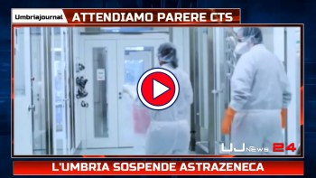 Regione Umbria sospende AstraZeneca, stop a vaccino per under 60