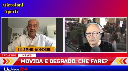 Movida Perugia, degrado e sicurezza, a Microfoni Aperti Luca Merli