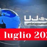 Tg dell'Umbria, il Telegiornale della sera, ultime notizie video 21.07.2021