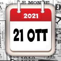 Video rassegna stampa giornali in pdf del 21 ottobre 2021