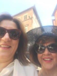Catiuscia e Carla Marini