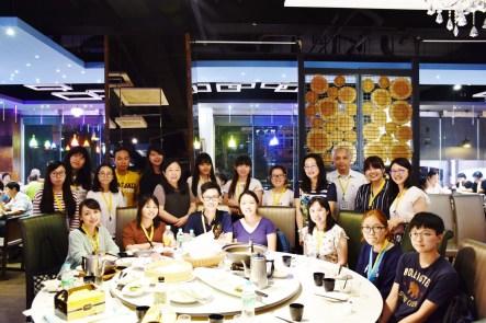 主办方在米乐餐厅举办了一场欢迎晚宴。