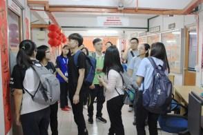 大一新生也被带到中文系,认识环境。