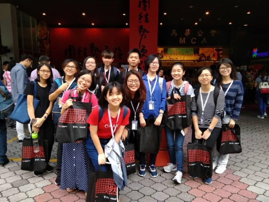 3 - 本系学生参与 TEDx PetalingStreet 2018年会《燃Passion》