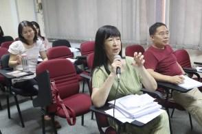 马大中文系高级讲师孙彦莊博士讲评。