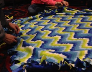 Blanket Ministry Youth group post