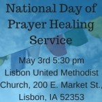 National Day of Prayer Healing Service