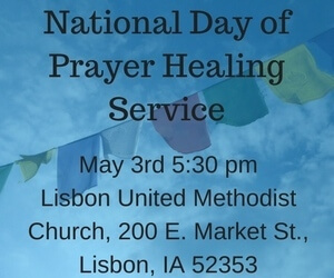 National Day of Prayer Healing Service – United Methodist