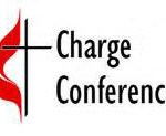 Spring Charge Conference – This Sunday at 10 am