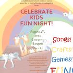 Celebrate Kids Night- a fun summer event!