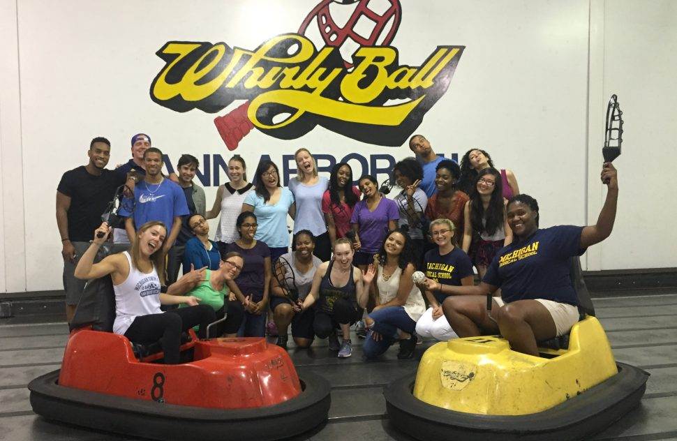 Bonding over a little Whirly Ball