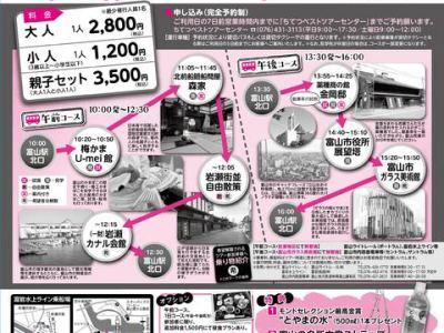 ちょこたび富山 定期観光バス