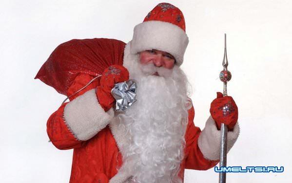 Мешок и посох Дедушки Мороза своими руками