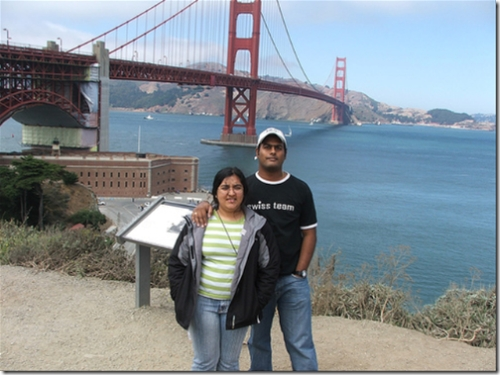 Us at the Golden Gate