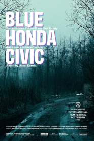 Blue Honda Civic