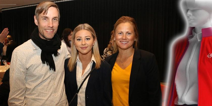 Till höger Jenny Ferry från Sigr, på bilden tillsammans med medarbetarna Fredrik Petrusson och Julia Nordin.