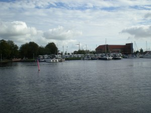 WoMo Stellplatz am alten Binnenhafen, Emden