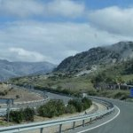 Flucht vor Wind und Regen – Fahrt nach Andalusien