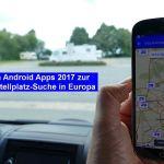 Verkaufsstart unseres E-Books: Die 11 besten Android Apps 2017 zur Wohnmobil-Stellplatz-Suche