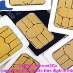 UMIWO Internet2Go: Der passende Tarif fürs mobile Internet