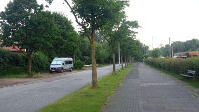 """Ruhig Parken am Freibad """"Badebucht"""" in Wedel"""