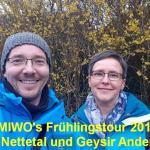 YouTube Vlog #1: UMIWO's Frühlingstour 2018  in der Vulkan Eifel Teil 1