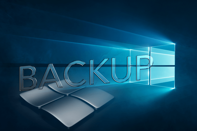 Backup File Windows 10