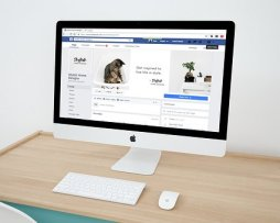 facebook display